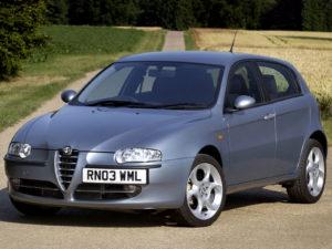 Комплект порогов Alfa Romeo 147 (2000-2004)
