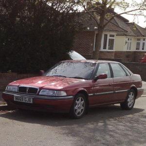 Комплект порогов Rover 800 (1986–1999)