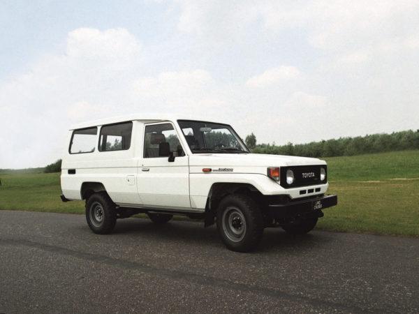 Комплект порогов Toyota Land Cruiser 75 (1984-н.в.)
