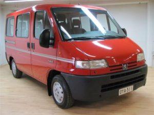 Комплект порогов Peugeot Boxer