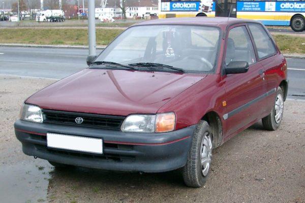 Комплект порогов Toyota Starlet 80 (1984–1996)