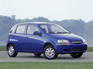 Пороги на Chevrolet Aveo т250 (2007)