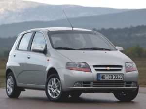 Комплект порогов ChevroletKalos (2002-2011)