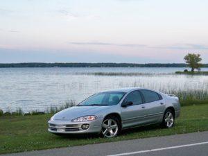 Комплект порогов Chrysler 300M (1998-2004)