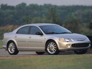 Комплект порогов Chrysler Sebring 2 (2001-2007)