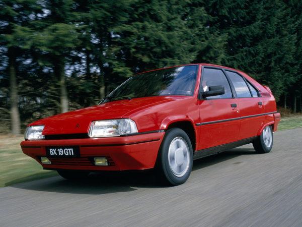 Комплект порогов Citroen BX (1982-1994)
