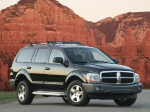Комплект порогов Dodge Durango 1-2 (1998-2009)