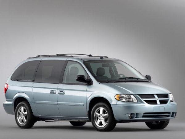 Комплект порогов Dodge Caravan 4 (2001-2007)