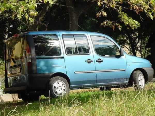Комплект порогов Fiat Doblo (2001–2010)