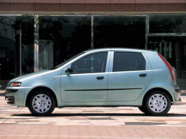 Комплект порогов Fiat Punto (1993-1999)