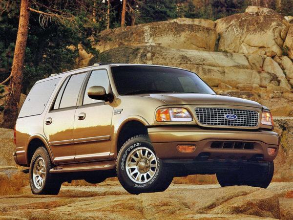 Комплект порогов Ford Expedition 1 (1997-2003)