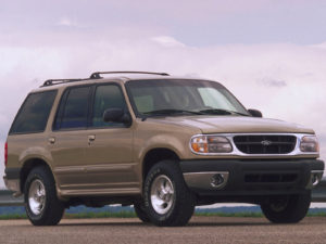 Комплект порогов Ford Explorer