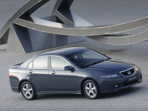 Комплект порогов Honda Accord 7 (2002-2007) под накладку