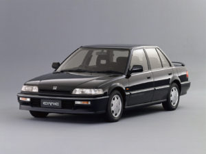 Пороги на Honda Civic, Civic 4d (1987-1991)