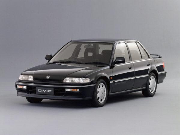 Комплект порогов Honda Civic 4d (1987-1991)