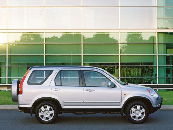 Комплект порогов Honda CR V (2004-2007)