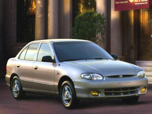 Комплект порогов Hyundai Accent (1994-2000)