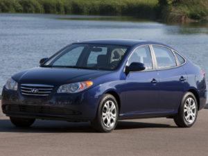 Комплект порогов HyundaiElantra(Lantra 4) (2006 – 2009)