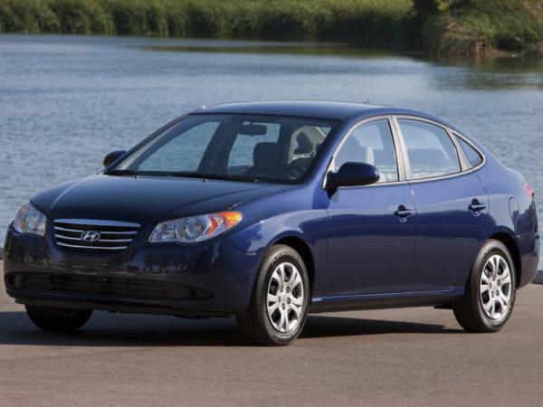 Комплект порогов HyundaiElantra (2006-2009)