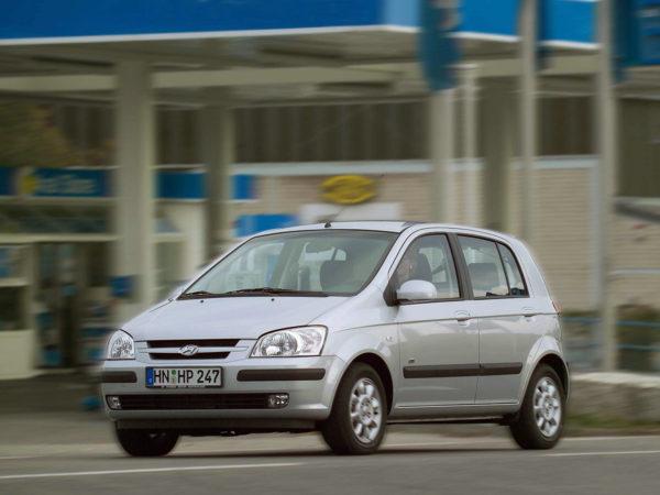 Комплект порогов Hyundai Getz (2002-2011)