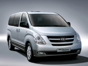 Комплект порогов HyundaiStarex (1996-2007)