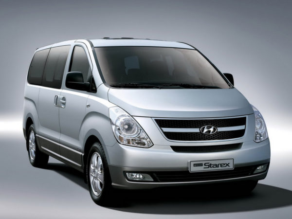 Комплект порогов HyundaiStarex (1996–2007)
