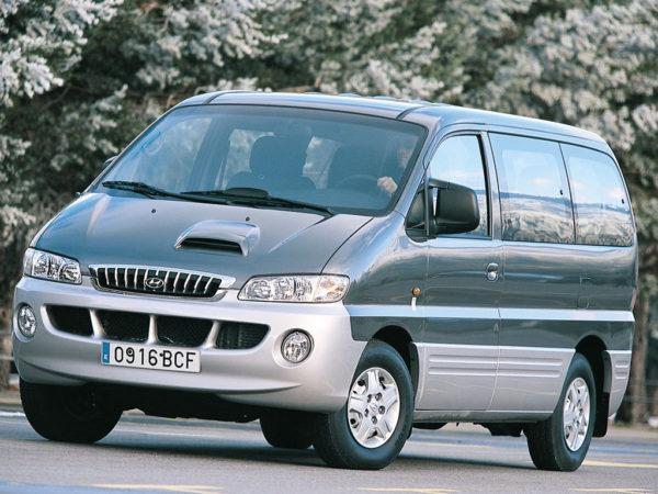 Комплект порогов Hyundai H1 (1996-2007)