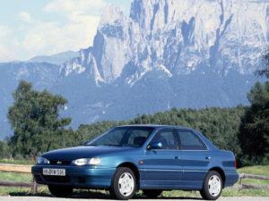 Комплект порогов HyundaiLantra 1 (1990–1995)