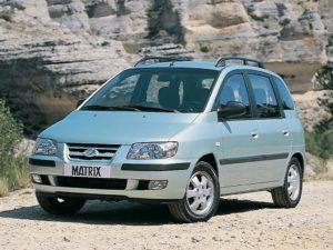 Комплект порогов HyundaiMatrix (2001–2010)
