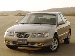 Комплект порогов Hyundai Sonata (1995-1998)
