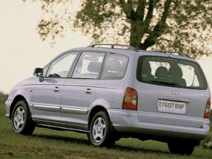 Комплект порогов HyundaiTrajet (2000–2008)