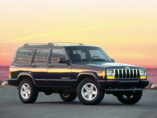 Комплект порогов Jeep Cherokee 1 (1984-2001)