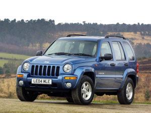 Комплект порогов Jeep Cherokee 2 (2002-2007)
