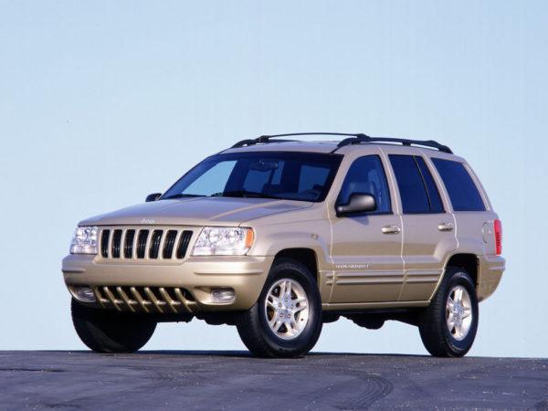 Комплект порогов Jeep Grand Cheroke 1 (1993-1998)