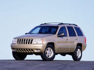 Комплект порогов Jeep Grand Cherokee 2 (1999-2003)