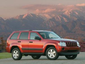 Комплект порогов Jeep Grand Cheroke 3 (2005-2010)