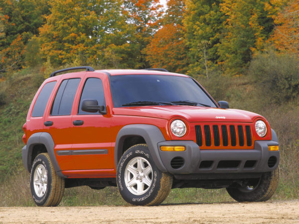 Комплект порогов Jeep Liberty (2001-2007)