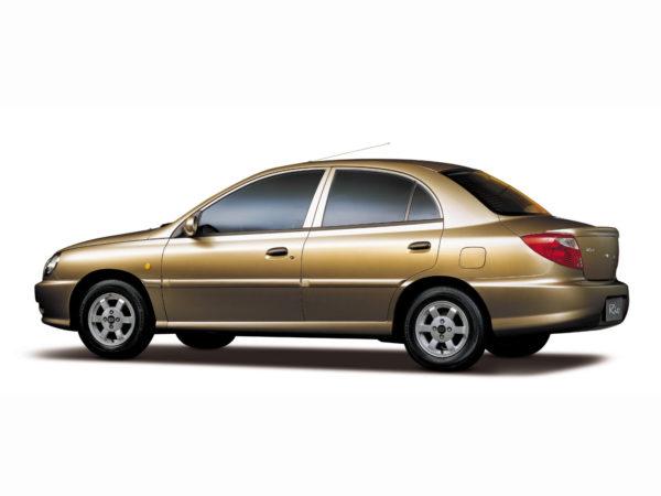 Комплект порогов KiaRio 1 (2000-2005)