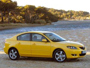 Комплект порогов Mazda 3