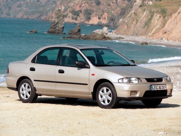 Комплект порогов Mazda323 P (BA) (1996–2000)