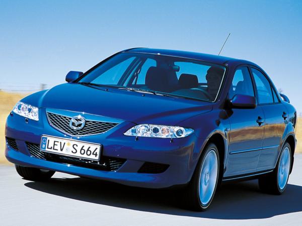 Комплект порогов Mazda 6