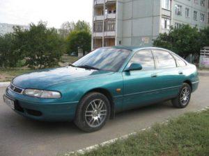 Комплект порогов Mazda626 (GE) (1992–1997)