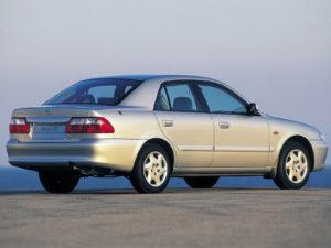 Комплект порогов Mazda626 (GF) (1997–2003)