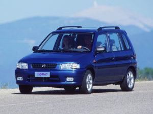 Комплект порогов MazdaDemio (DW) (1997–2007)