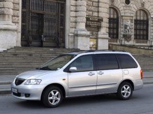 Комплект арок MazdaMPV 2 (LW) (1999–2006)