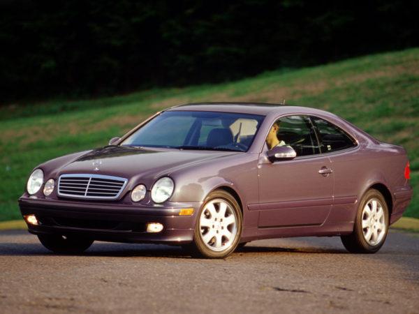 Комплект порогов Mercedes-Benz W208 (1997-2002)