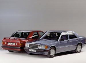 Комплект порогов Mercedes-Benz 201 (1982-1993)