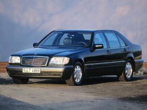 Комплект порогов Mercedes-Benz 140 (1991-1998)