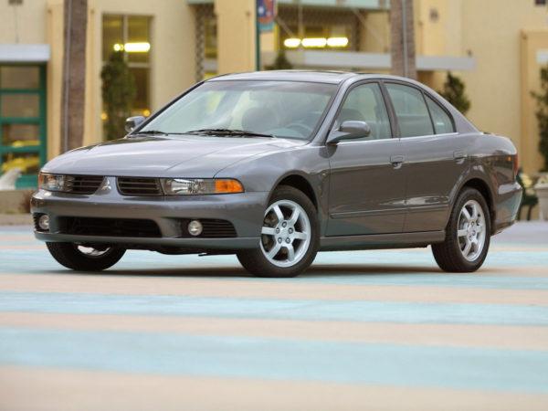 Комплект порогов MitsubishiGalant 8 (1996-2003)