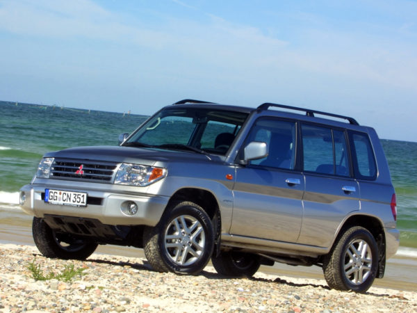 Комплект порогов Mitsubishi Pajero Pinin (1998-2006)